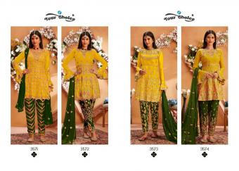 YOUR CHOICE Maria-B. Gold WHOLESALE SALWER SUIT CATALOG