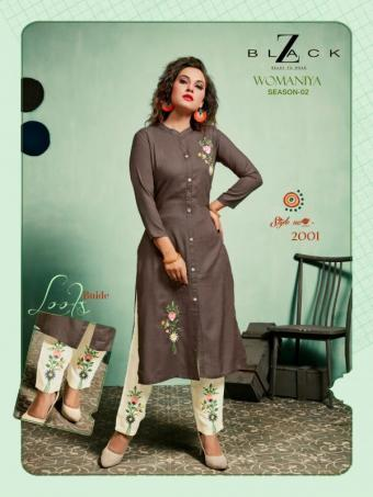 AD 246 Z Black Womaniya Wholesale kuratis Catalog