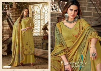 Alok Suit  Kashida  Wholesale suit  Catalog
