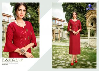 JINESH NX nakashi vol 1 Wholesale kurti Catalog