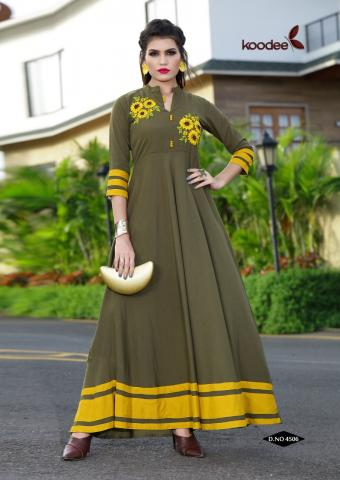 Kartavya Fashion Pvt Ltd  Kashida  Wholesale kurtis  Catalog