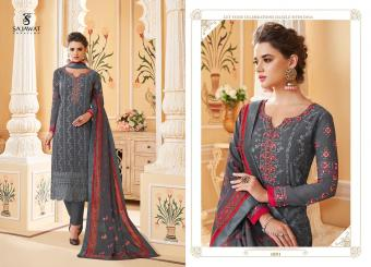 Sajawat creation   LAKHNAVI VOL -03  Wholesale Salwar kameez  Catalog