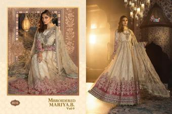 Shree fab  Mbroidered Maria b vol 9  Wholesale suit  Catalog