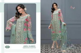 Shree fabs ASIFA NABEEL EMBRODERD COLLECTION  Wholesale suit Catalog
