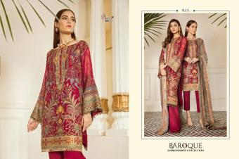 SHREE FABS BAROQUE EMBRODERD COLLECTION Wholesale  suit  Catalog