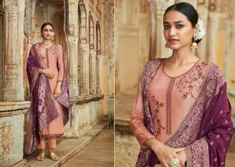 SILK JACQUARD  SANNA  Wholesale suit Catalog