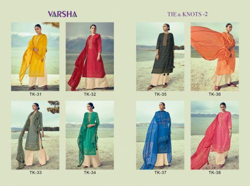 Varshaa Tie & Knots Vol 2 Wholesale salwar suit catalog