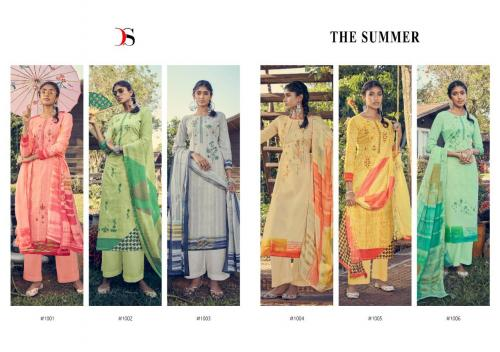 DEEPSY  THE SUMMER WHOLESALE SALWER SUIT CATALOG