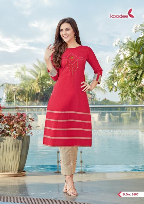 Koodee Panihari-2 Wholesale Kurti with Pant Catalog