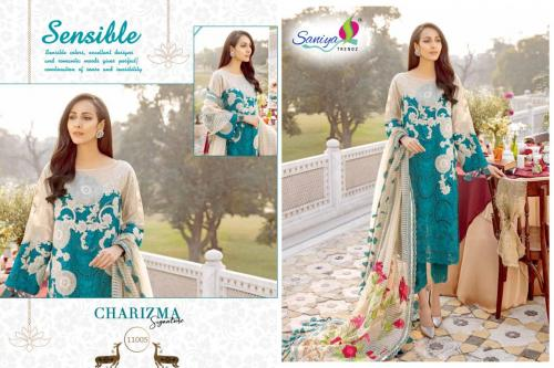 SANIYA TRENDZ CHARIZMA -SIGNATURE Wholesale salwar suit Catalog