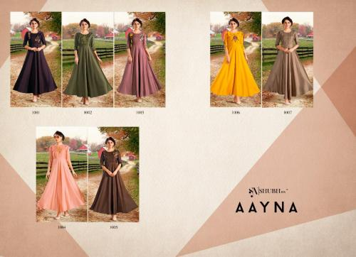 SHUBH NX AAYNA VOL.1  WHOLESALE GOWN CATALOG