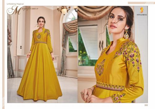 Stylemax™ ALMIRAH VOL -01 Wholesale gown  Catalog