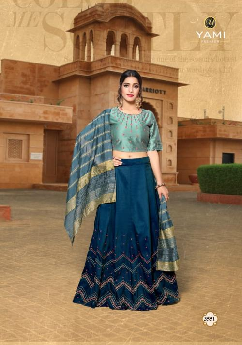 Yami Fashion  KAANCHIE Wholesale  lehengas Catalog