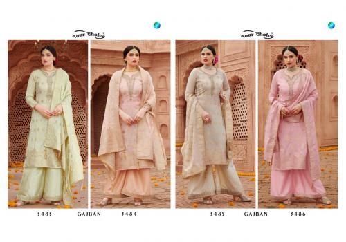 YOUR CHOICE GAJBAN WHOLESALE SALWER SUIT CATALOG