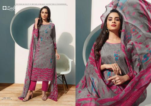 Zulfat Designer Suits SUMMER FIESTA Wholesale salwar suit  Catalog